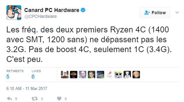 AMD Ryzen 4C 2