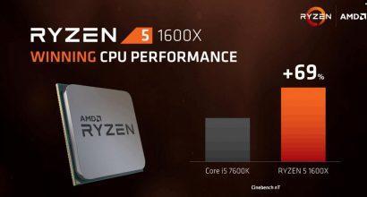 AMD Ryzen 5 поступят в продажу 11 апреля