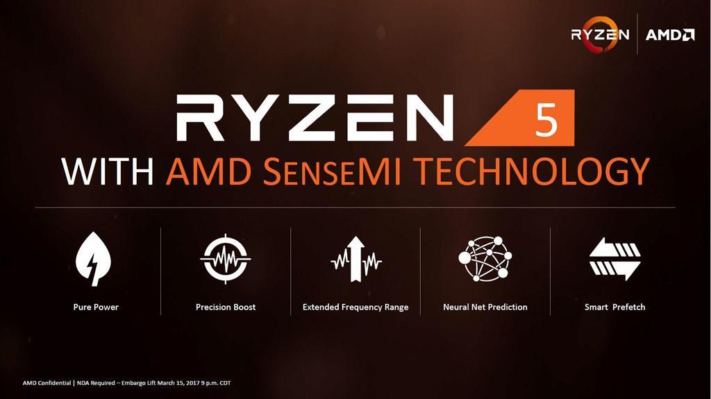 AMD Ryzen 5 Released 3