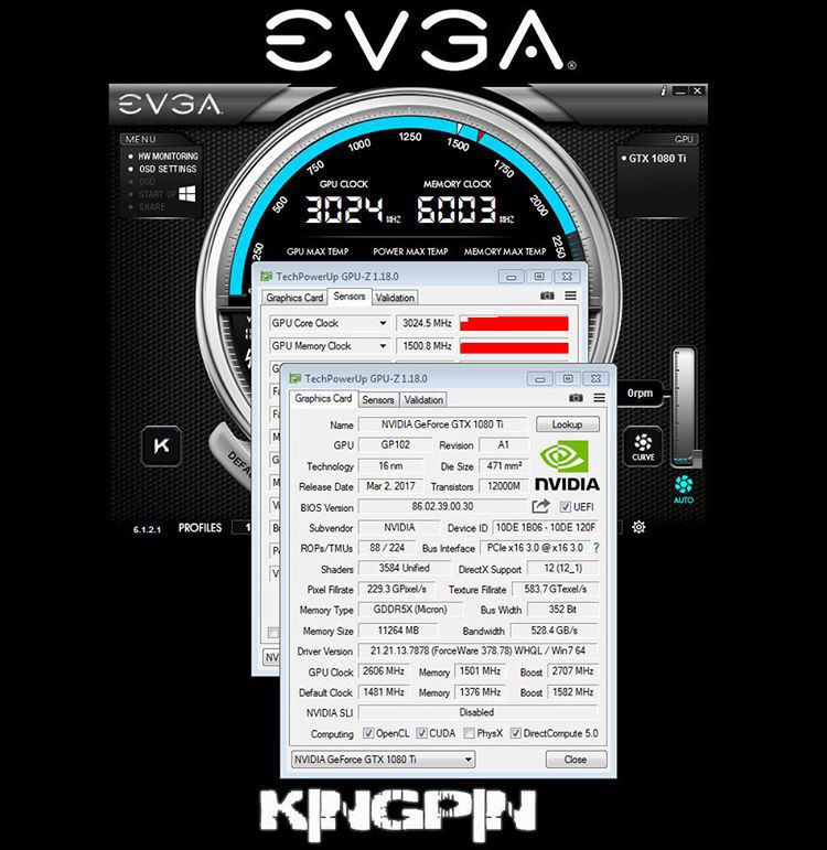 NVIDIA GTX 1080 Ti 3 Ghz 2
