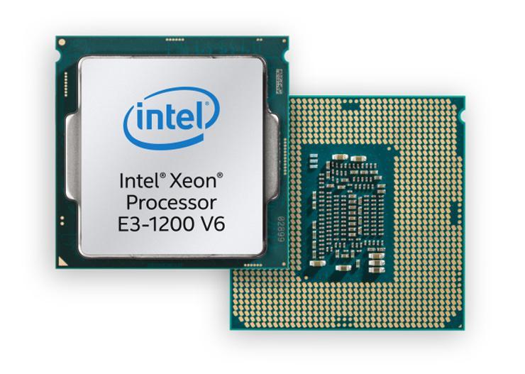 Intel Xeon E3 1200v6 1