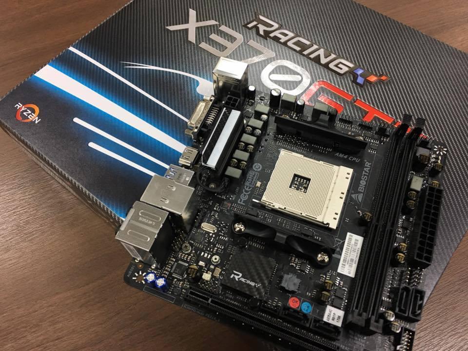 Biostar X370-GTN – первая AM4-материнская плата в форм-факторе mini-ITX