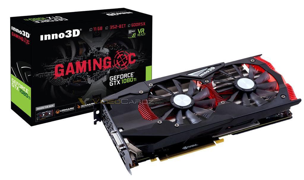 Inno3D GeForce GTX 1080 Ti GAMING OC