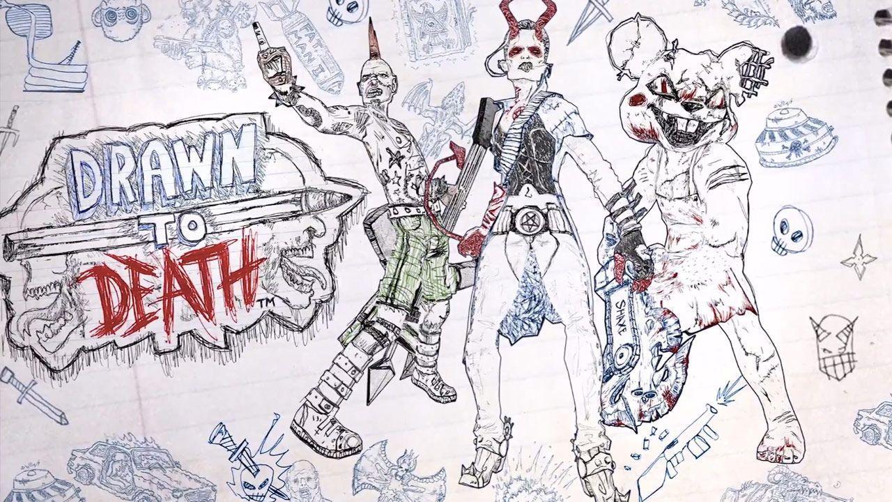 """Сетевой шутер Drawn To Death и """"зарисуй всех до смерти"""" [PS Plus]"""