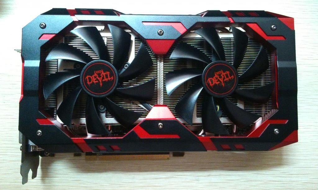 PowerColor RX 580 Red Devil 1