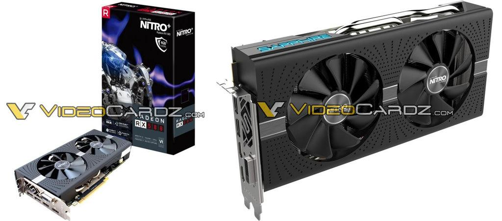 SAPPHIRE Radeon RX 580 4GB NITRO