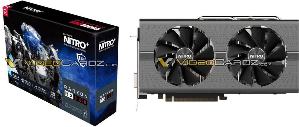 SAPPHIRE Radeon RX 580 8GB NITRO LE