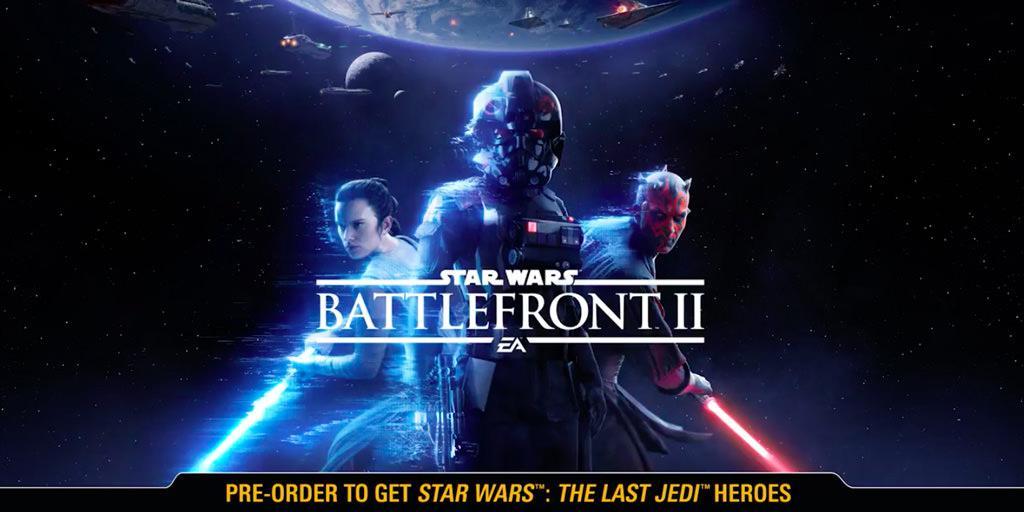 В Сеть раньше времени попал коммерческий трейлер Star Wars Battlefront 2