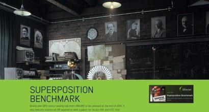 Выпущен бенчмарк Unigine Superposition 1.0
