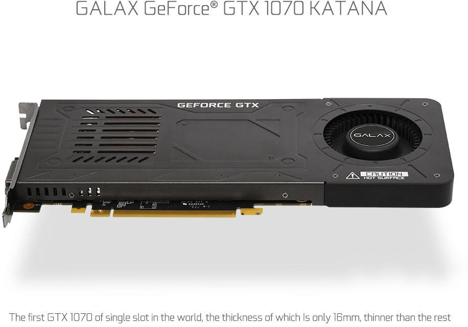 Galax GeForce GTX 1070 Katana 4