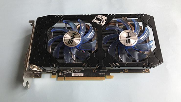 HIS Radeon RX 570 IceQX2 1