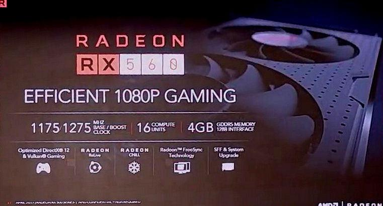 AMD Radeon RX 500 series 8