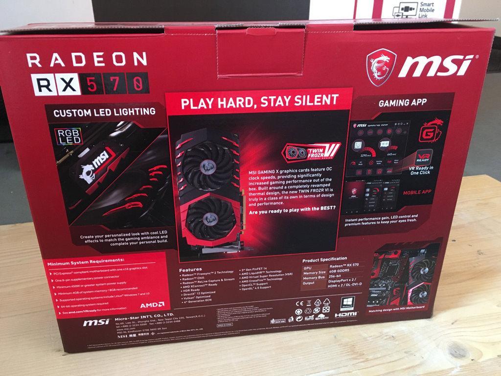 MSI Radeon RX 570 GAMING X 4