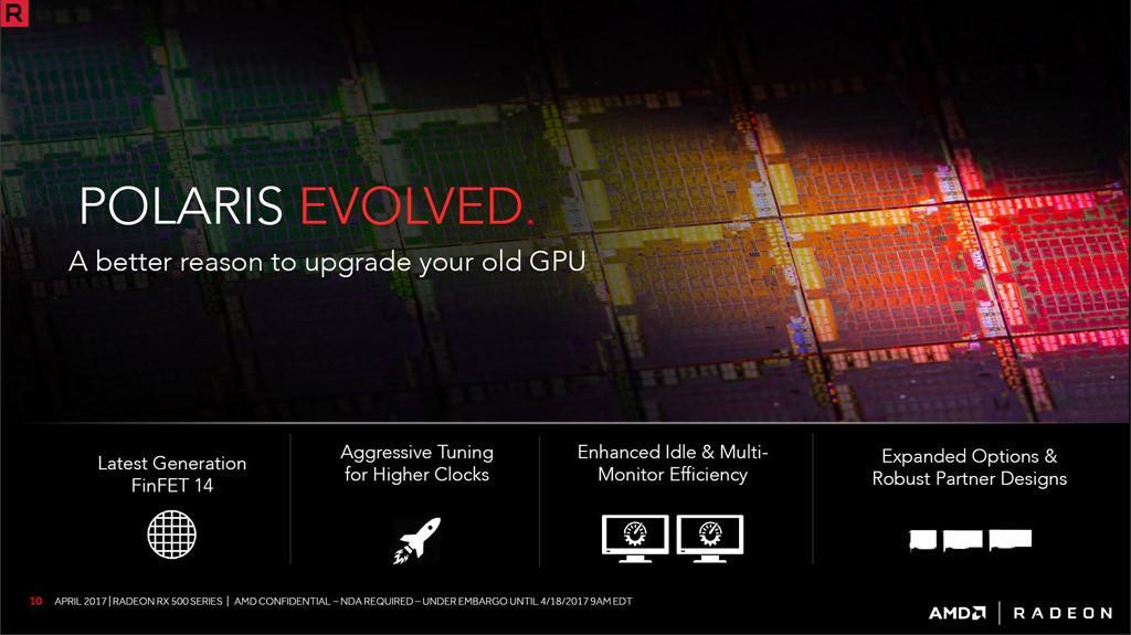 AMD Radeon RX 580 570 560 550 2