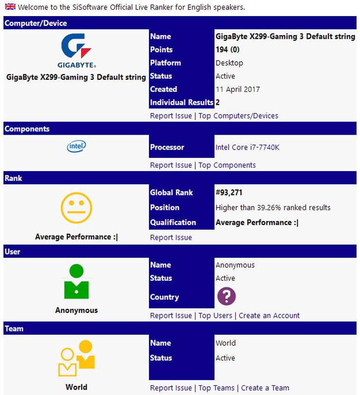 Intel Core i7 7740K 1