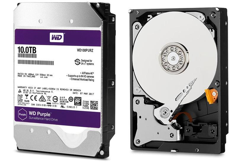 WD Purple 10TB