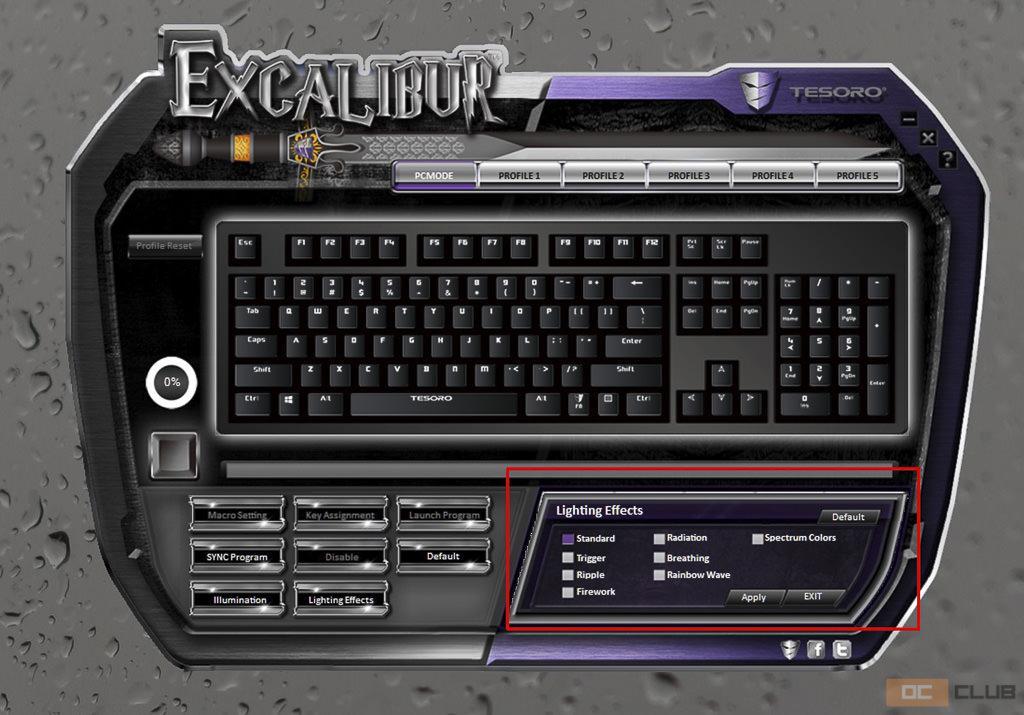 tesoro excalibur 23