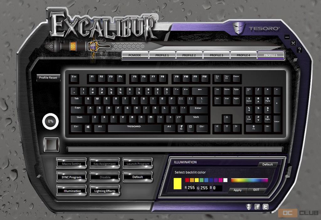 tesoro excalibur 24