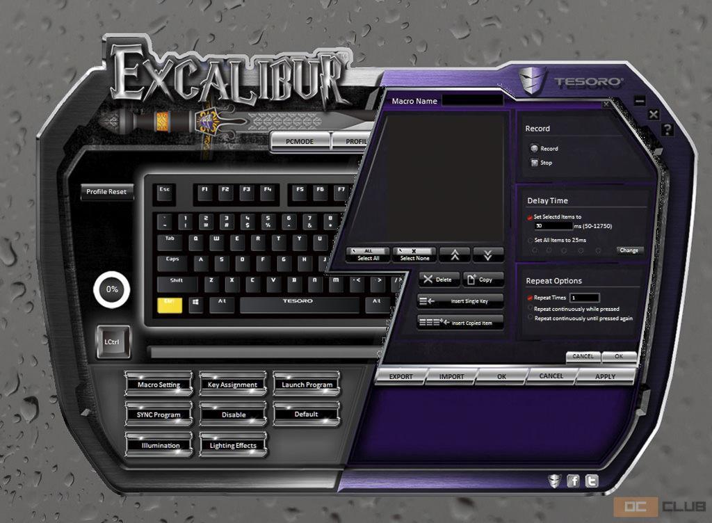 tesoro excalibur 26