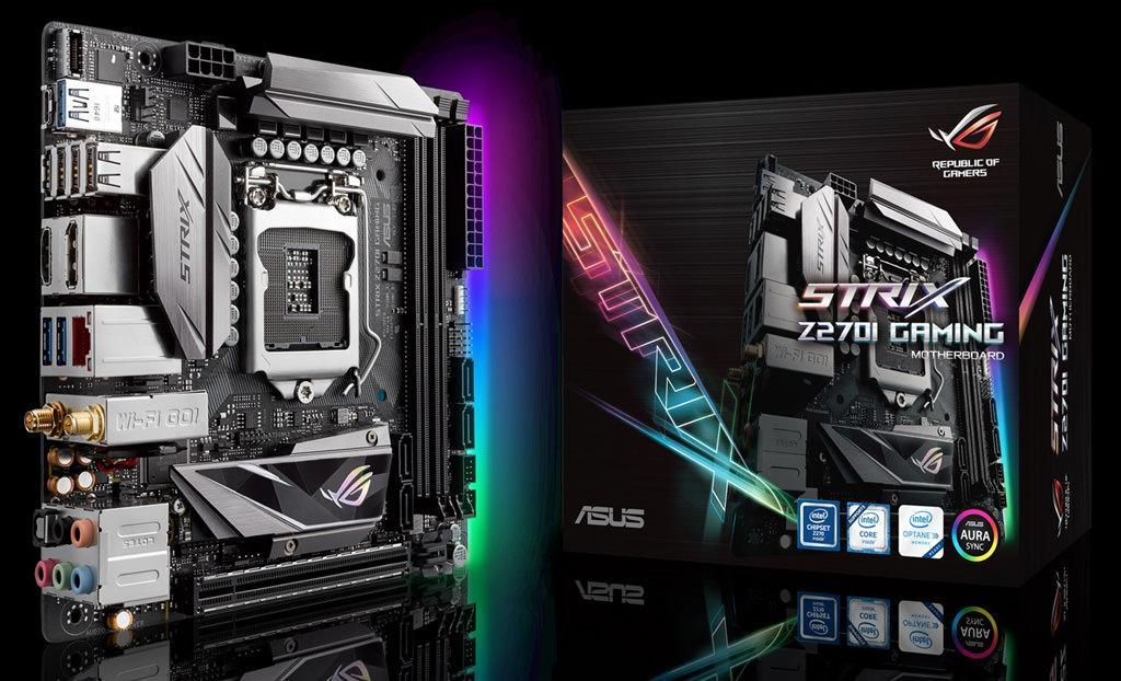 Обзор mini-ITX платы ASUS ROG Strix Z270I Gaming. Маленькая и злая