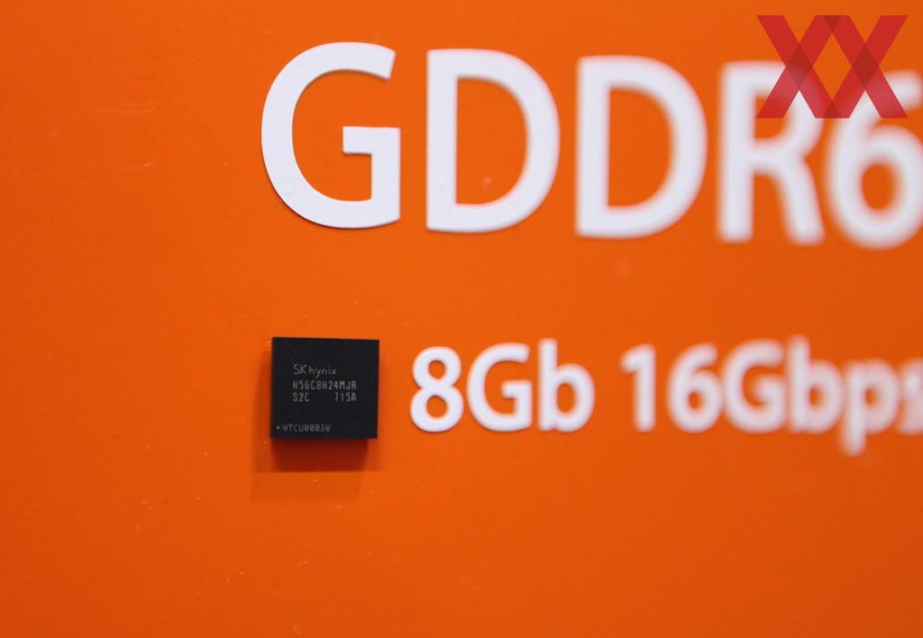 SK Hynix показала готовые образцы видеопамяти GDDR6