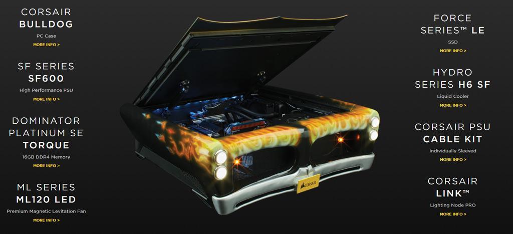 Corsair Dominator Platinum Special Edition Torque 5