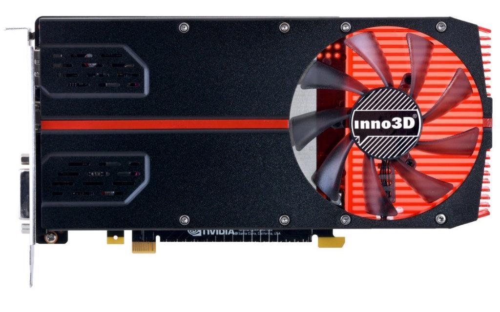 Inno3D GeForce GTX 1050 Ti single slot 2
