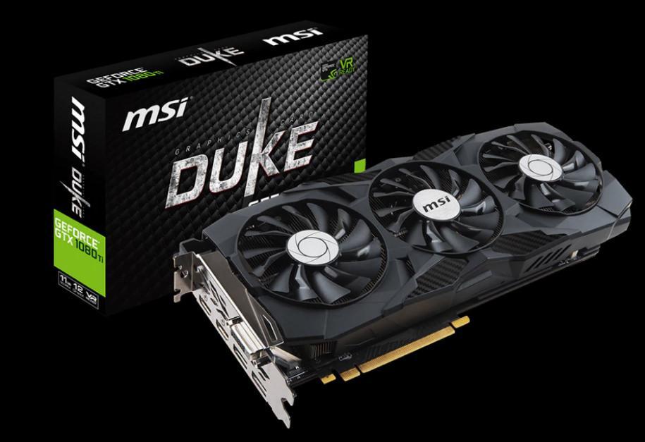 MSI GTX 1080 Ti Duke 3