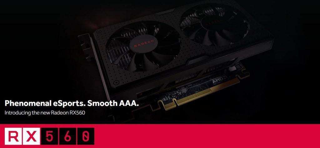 AMD Radeon RX 560 1