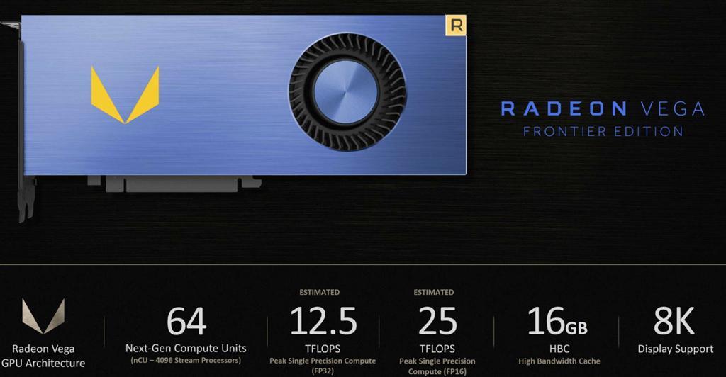 AMD Radeon Vega Frontier Edition 4