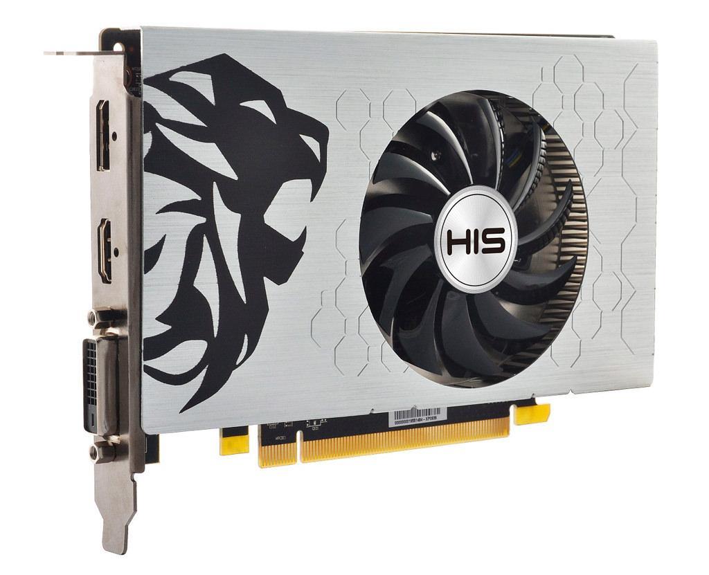 HIS Radeon RX 550 Slim iCooler OC 3