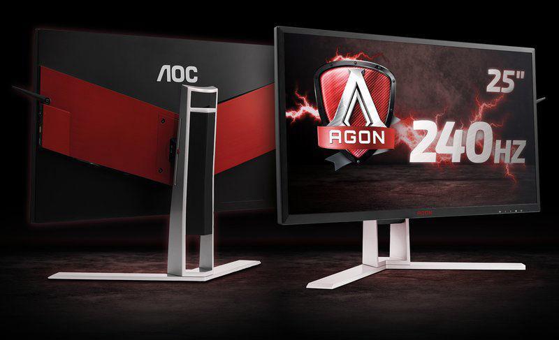 AOC AGON AG251FG – монитор с G-Sync и частотой обновления 240 Гц