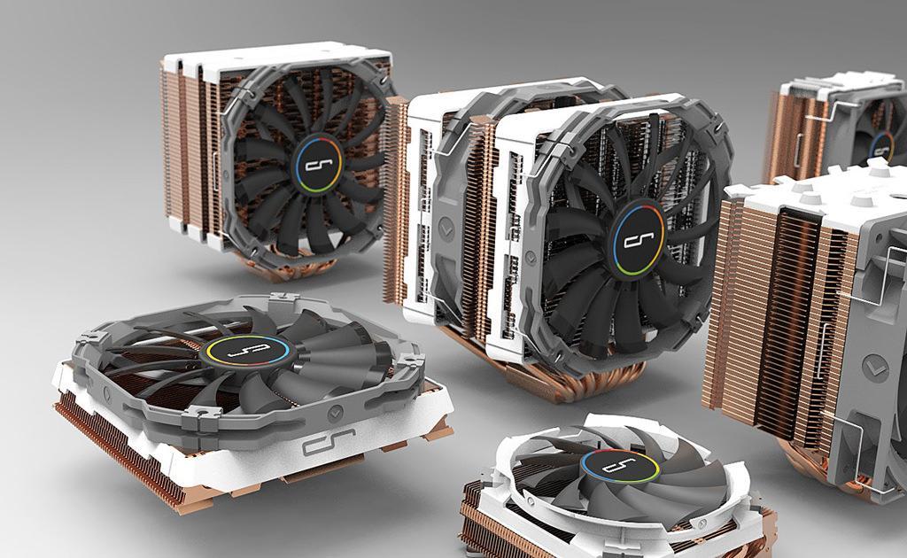 Cryorig готовит обновленные версии своих кулером с медным (!) радиатором