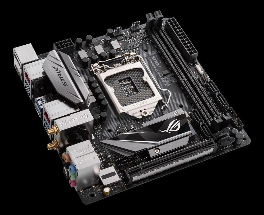 ASUS представила материнскую плату ROG Strix H270I в формате mini-ITX