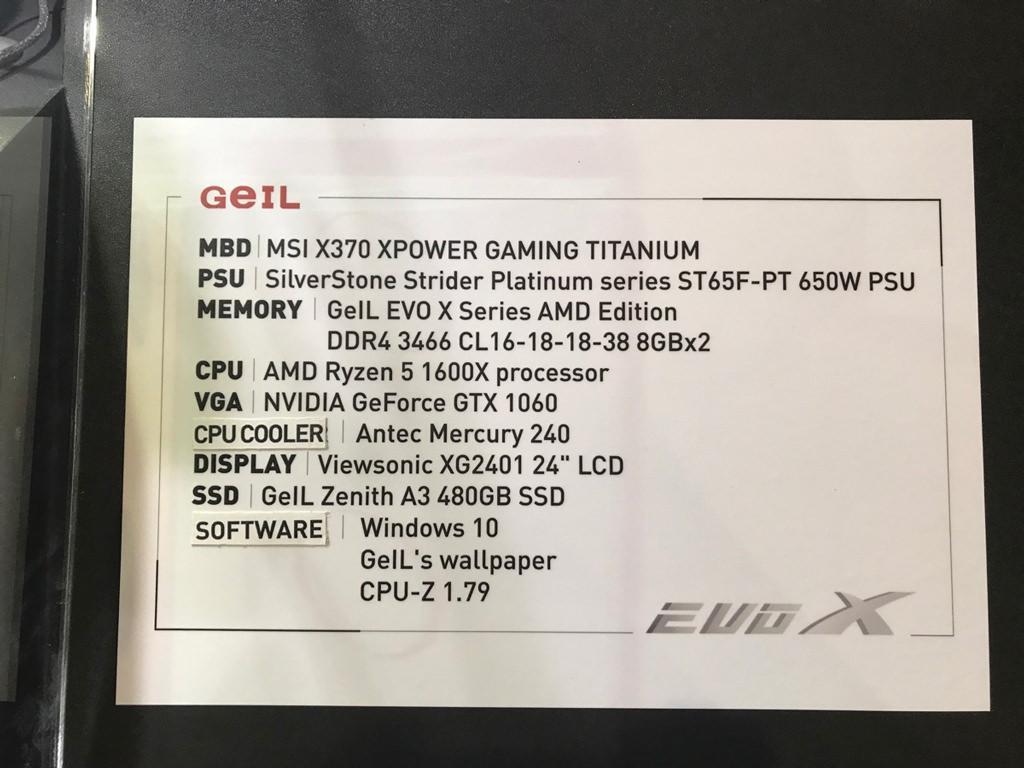 Computex 2017 GeIL 4