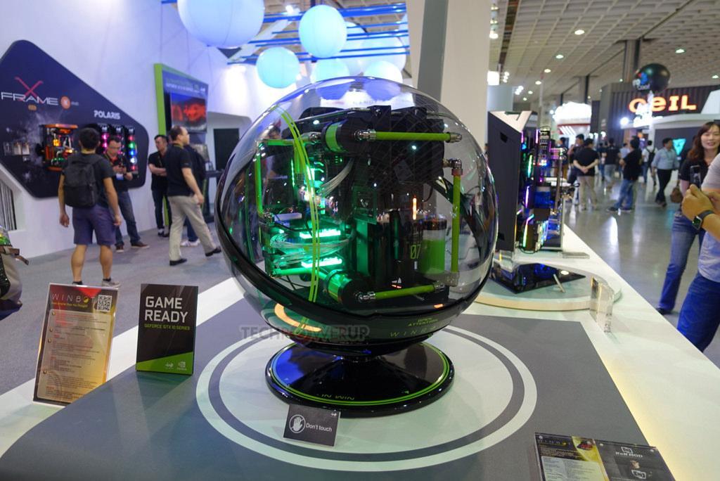 Computex 2017: сферический E-ATX корпус от In Win