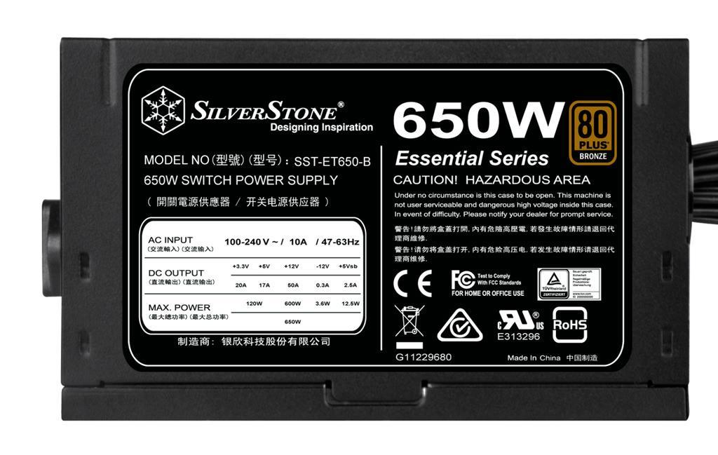 SilverStone ET 550B ET650B 2