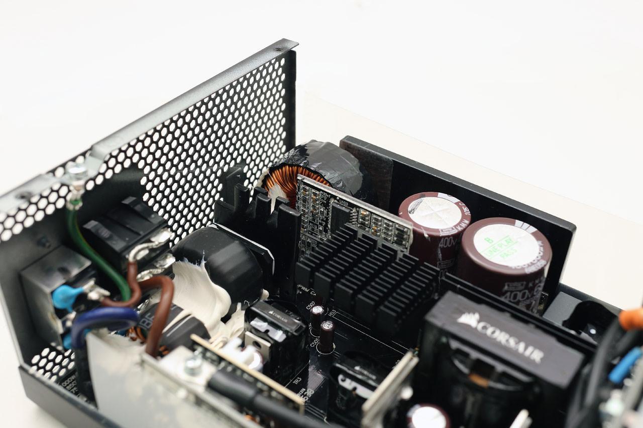 inside radiator
