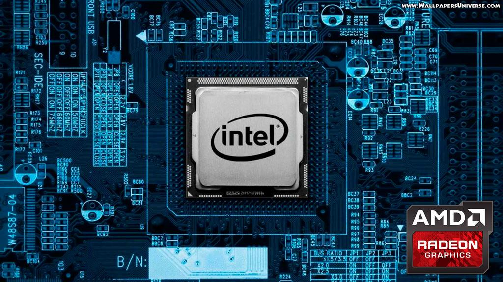 Intel CPU AMD GPU Apple 1
