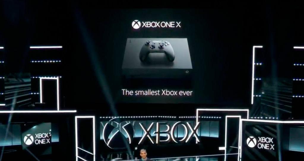 Microsoft представила консоль Xbox One X (Project Scorpio)