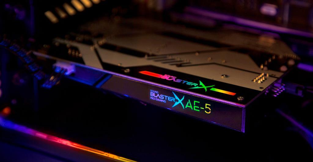 Creative Sound BlasterX AE 5 1