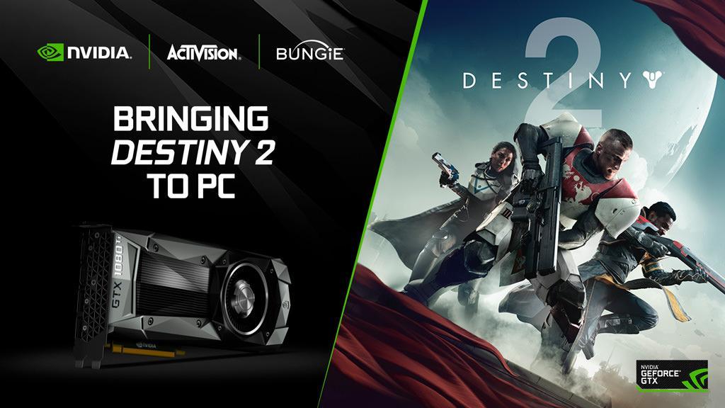 Аукцион невиданной щедрости: Destiny 2 бесплатно покупателям топовых видеокарт NVIDIA