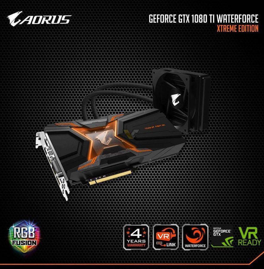 AORUS GTX 1080 TI Water XE