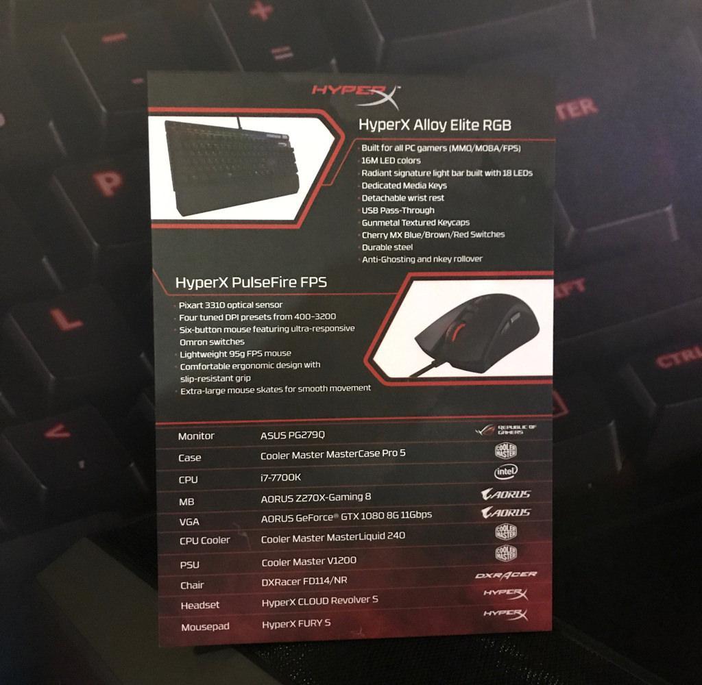 HyperX Alloy Elite RGB 2
