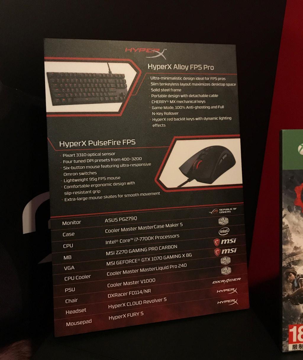 HyperX Alloy FPS Pro 1