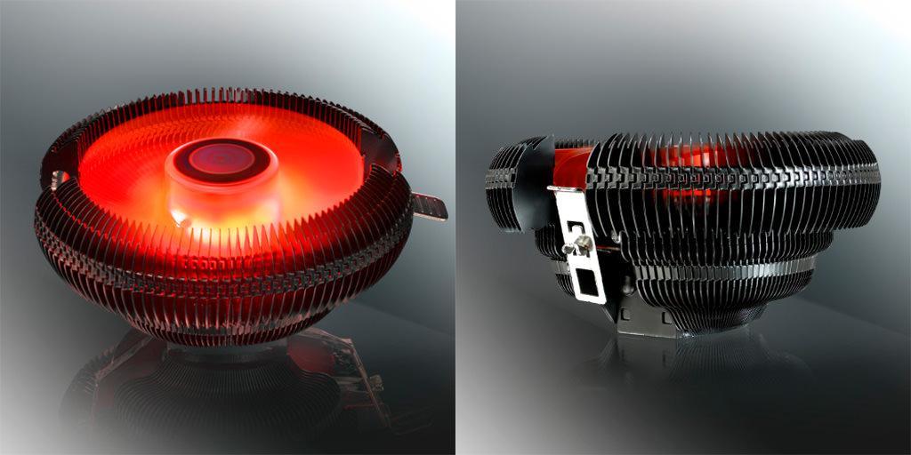 Raijintek представила низкопрофильный процессорный кулер Juno X. Тот самый дизайн 2000-х