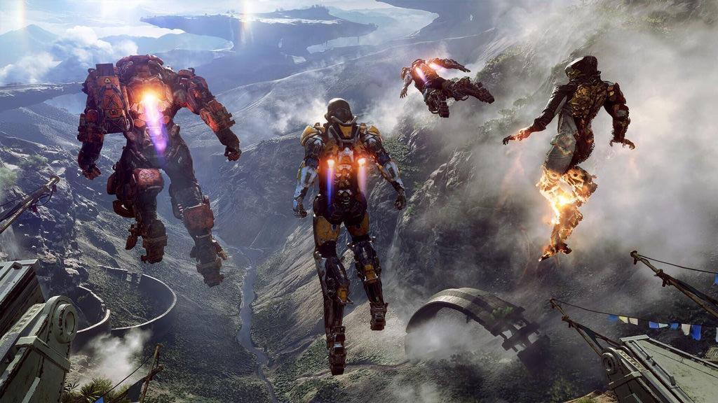 Компания EA прояснила сроки выхода шутера Anthem