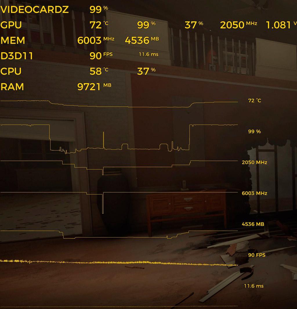 MSI Afterburner 4.4.0 Beta 11 умеет строить графики прямо в игре