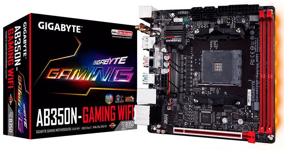 Gigabyte AB350N-Gaming Wi-Fi – похоже первая AM4-материнская плата в формате mini-ITX