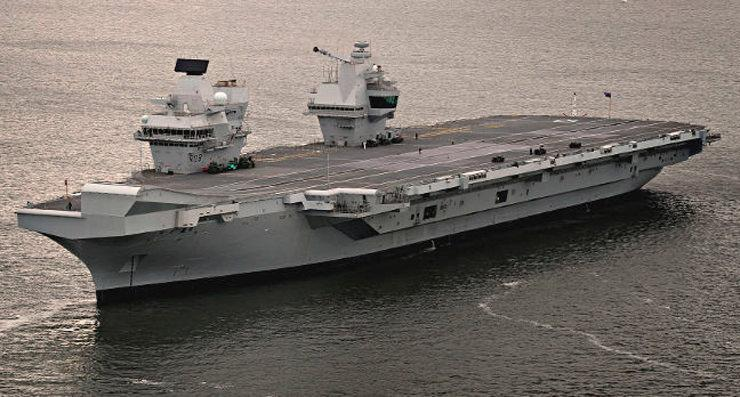 hms queen elizabeth run Windows XP 1